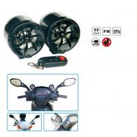 Buy cheap Waterproof Motorcycle Audio System With FM Radio/AMP/USB/TF CARD/AUX IN/ALARM/LED Light/Wireless Remote product