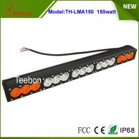Quality 27.2 inch 150W CREE LED light bar single row in optional spot/flood/combo beam for sale
