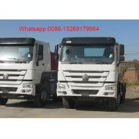 Buy cheap SINOTRUK HOWO ZZ4257S3241W 6x4 Euro 2 emission standard 10 wheeler 371hp tractor truck product