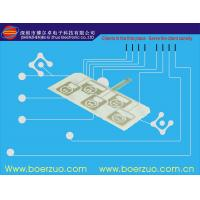China Front Panel Graphic Membrane Switch Overlay With LED and Metal Dome on sale