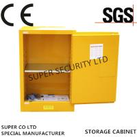 Buy cheap Adjustable Locking Powder Coated Flammable Liquid Storage Cabinets 4-Galon Bench Top from Wholesalers