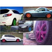 Buy cheap High Gloss Auto Spray Paint / Red Rubber Car Paint Spray Can Impact Resistance product