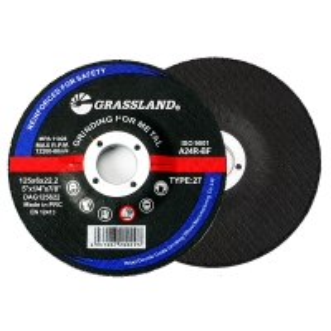 Buy cheap Abrasive 125 X 6.0 X 22.23mm Burr Free Metal Grinding Discs product