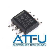 Buy cheap Dual Channel Operational Amplifier IC , 10 MHz Low Noise Op Amp IC NE5532DR product