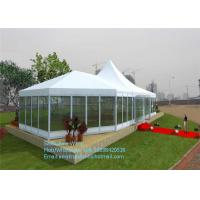 Buy cheap Chinese Waterproof Aluminum Frame PVC Cover Event Tent With Solid Wall from Wholesalers