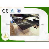 Buy cheap crystal plate restaurant hibachi grill table with electric
