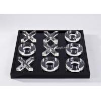 Buy cheap Transparent Lucite Plastic Tic Tac Toe Game Board Engraving Logo product