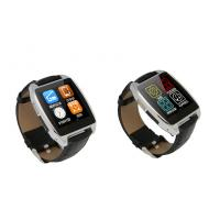 Buy cheap Black / Gold / Silver BT 4.0 Bluetooth Smartphone Watch With 200mAh Lithium Polymer Battery product