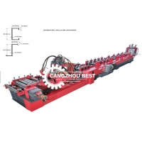 Buy cheap 100 - 300 Automatic Adjustable Type Cz Purlin Roll Forming Machine from wholesalers