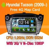 Buy cheap Hyundai Tucson Android Autoradio DVD GPS Navi Digital TV Wifi 3G product