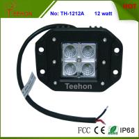 Buy cheap Professional Flush mount 12W off Road 4X4 CREE LED Work Light with IP67, CE, RoHS product