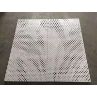 Buy cheap High Strength Perforated Aluminum Ceiling Tiles Ral & Pantone Color product