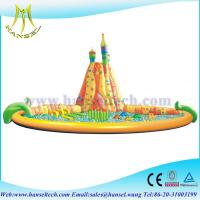 Buy cheap Hansel Inflatable Water Trampoline With Small Slides For Family Swimming Pool Water Park product