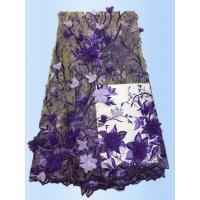 Buy cheap 2017 High Quality Lace  Tulle Styles 3D Embroidery  Laces Fabric With Applique  with Different Color product