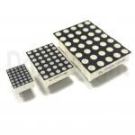 Buy cheap 3.0mm Diameter 5×7 Ultra White 35 Dot Matrix LED 7 Segment Display ISO9001 product