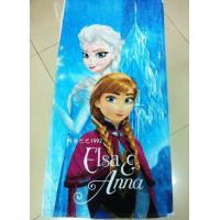 Buy cheap Cotton Frozen Cartoon Children Bath Towel Children Beach Towel Disney Cartoon OEM Towel product