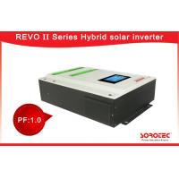 Buy cheap 220 VAC Hybrid Solar Inverter / On Grid Solar Inverter With Battery Optional from wholesalers