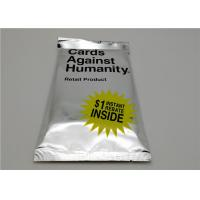 Buy cheap 53g Cards Against Humanity Expansion Packs Intellectual Development Style product