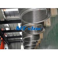 Buy cheap 1 / 8 Inch TP304 / 304L Stainless Steel Coiled Tubing Coil Steel Tube For Food Industry from Wholesalers
