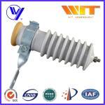 Buy cheap 51KV Power Station Porcelain Substation Surge Lightning Arrester High Reliability from Wholesalers