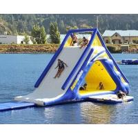 Buy cheap kiddie inflatable water trampoline for inground pools summer amusing product