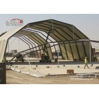Buy cheap Aluminum Frame Portable Airplane Hangar Tent Automatic Eyelet Door from Wholesalers