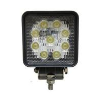 """Buy cheap Square 4"""" 27W Led Work Light Flood Beam Driving Fog Lights off road Lights 10-30V IP67 Thicker profile product"""