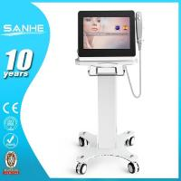 Quality (Hot in USA) 2016 Advanced technolgy 3 transducers Hifu Facial Best Anti Wrinkle Machine H for sale
