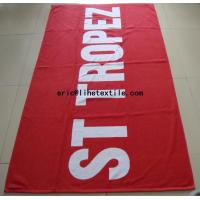 Buy cheap jacquard beach towel 30X60
