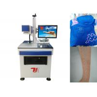 China 10640nm Beam Co2 Laser Marking Machine For Fabric , Clothing Printing on sale