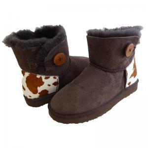 Buy cheap Classical Women Sheepskin Winter Boots Double Face Fur Anti - Slip product