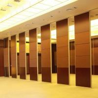 China Acoustic Folding Partition Walls for Banquet Hall Decorative / Acoustic Room Dividers Partitions on sale