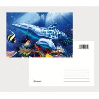 Buy cheap OK3D eco-friendly materials pp pet 3D postcards plant flip effect lenticular postcards 3 views changing postcards prints product