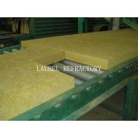 Buy cheap Rockwool Fireproof Insulation Roof Panel / Fireproof Glass Wool Insulation product