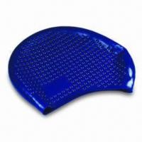 Buy cheap Swimming Cap, Made of Silicone Material with Nontoxic and Non-allergic Features, Highly Elastic product