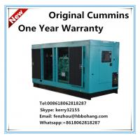 Buy cheap 200KVA canopy diesel generator set by Cummins engine with Stmford alternator product
