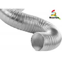 Buy cheap High Flexibility Semi Rigid Air Conditioning Aluminum Flexible Ducting from Wholesalers