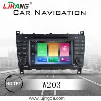 Buy cheap Android 8.0 Mercedes Benz DVD Player With 4+32G BT WIFI DTV Google Map TPMS product