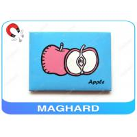 Buy cheap Apple Printing Iron Fridge Magnet Pictures 94 X 70 X 3mm Custom Made product