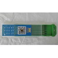 Buy cheap WP Pure Tungsten Electrodes with Green Tip/1.6 2.4 3.2/ for TIG Welding from Wholesalers