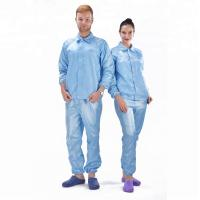 Buy cheap Pharmaceutical Class 100 ESD Launderable Cleanroom Apparel product
