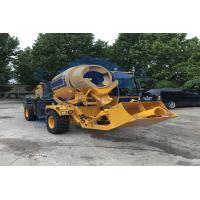 Buy cheap Diesel Engine Self Loading Concrete Mixer Machine For Construction Industry product