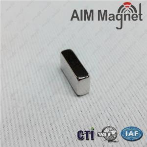 "Buy cheap 15/16"" x 1/8 "" x 1/8 "" block sintered ndfeb magnet product"