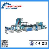 Buy cheap Fully Automatic Ribbon-through Garbage Bag Making Machine product