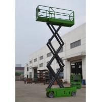 China Electric Self Propelled Scissor Lift Table Aerial Working Platform 230kg Loading Capacity on sale