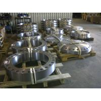 Heat Exchanger Steel Pipe Flange Customized Made Flat Face Flanges For Gas