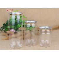 China Plastic Easy Open Juice Drinking Bottle For Beverage Packaging on sale
