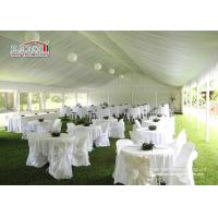Buy cheap Tents For Weddings Large White Custom Outside Party Tent Marquee from Wholesalers