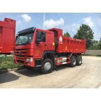 Buy cheap SINOTRUK HOWO 6x4 Dump Truck 18 CBM With HF9 Front Axle And HC16 Rear Axle product