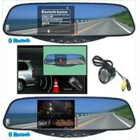 China 4w 3.5Tft Bluetooth Handsfree Kits Stereo Handsfree Rearview Mirror Car Electronic Product on sale